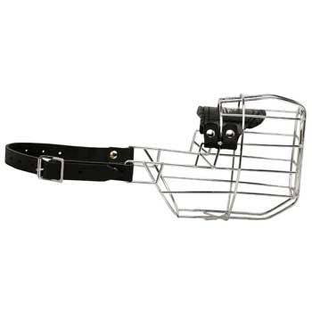 English Bulldog Muzzle Wire Cage Easu-to-adjust